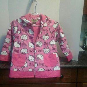 "Western Chief Lined Raincoat NWOT ""HELLO KITTY"""